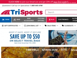 TriSports Coupon Codes August 2018